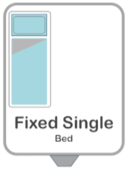 Single Bed Memory Foam Topper 50mm with Coolmax Cover