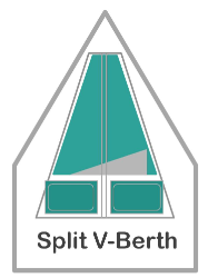 Split V-Berth Fitted Sheet
