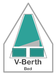 V-Berth Fitted Sheet