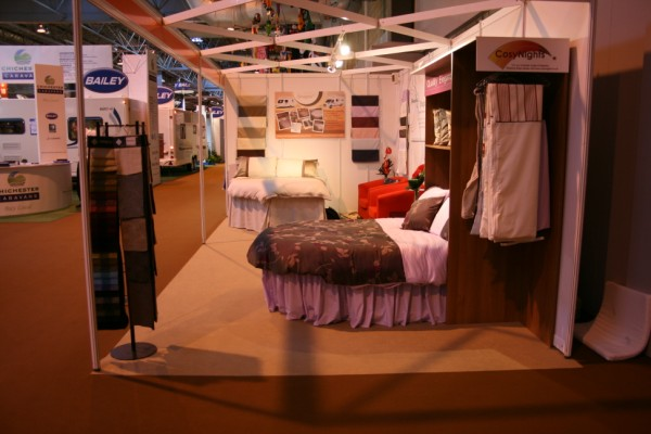 Freedom Is stand at the Motorhome and Caravan Show, October 2011